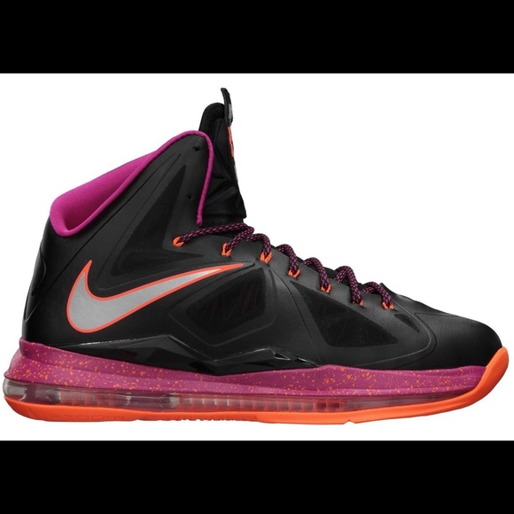 Nike Shoes - Nike Lebron X Floridian Colorway Sneakers